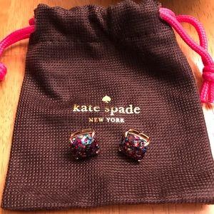 Multi-color Glitter Kate Spade Earrings